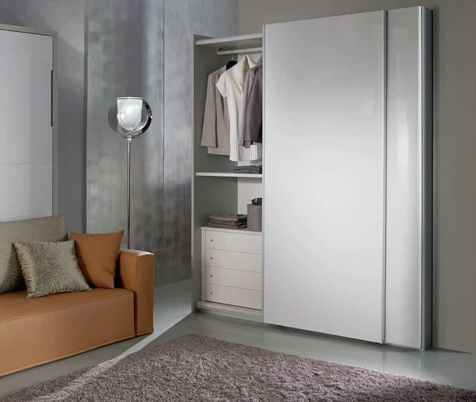 Letto estraibile con divano diamante in offerta a prezzi outlet scontato - Mobili letto a scomparsa economici ...