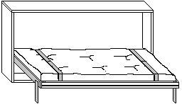 Scheda-tecnica-modello-Mai Mansi-letto-aperto-solo-struttura