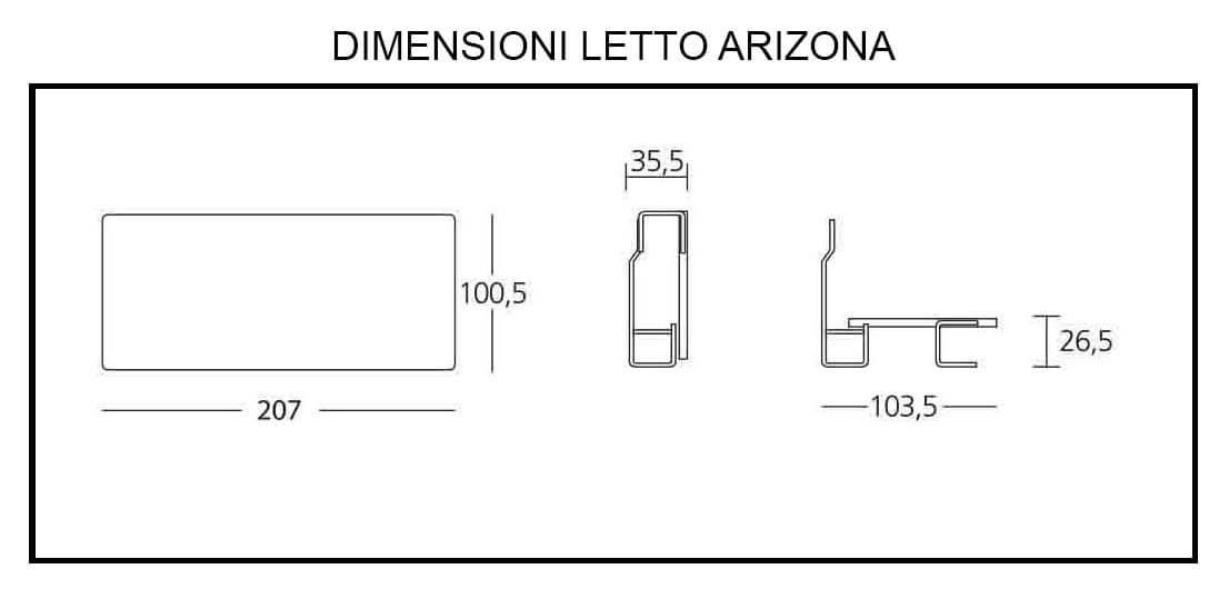 Stunning with dimensioni letto - Dimensioni letto a castello ...