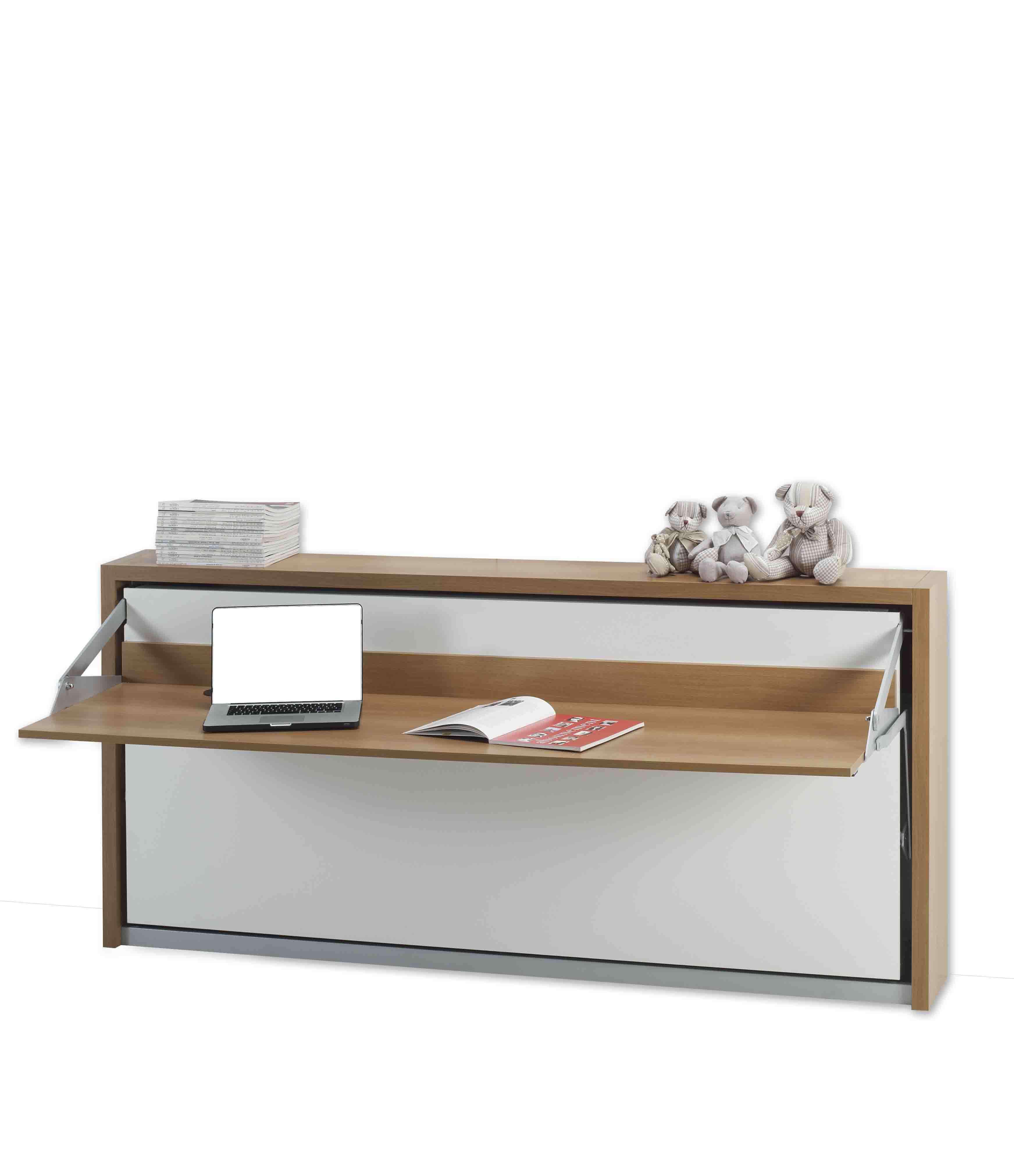 Letto a scomparsa con scrivania modello scrivio in offerta for Mobile con letto a scomparsa ikea