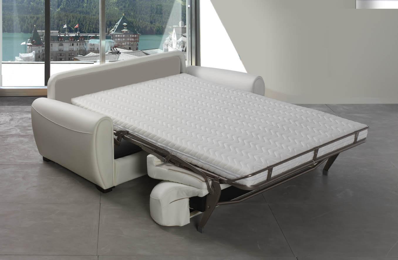 Divano letto modello manatthan sof convertibile - Divano letto aperto ...