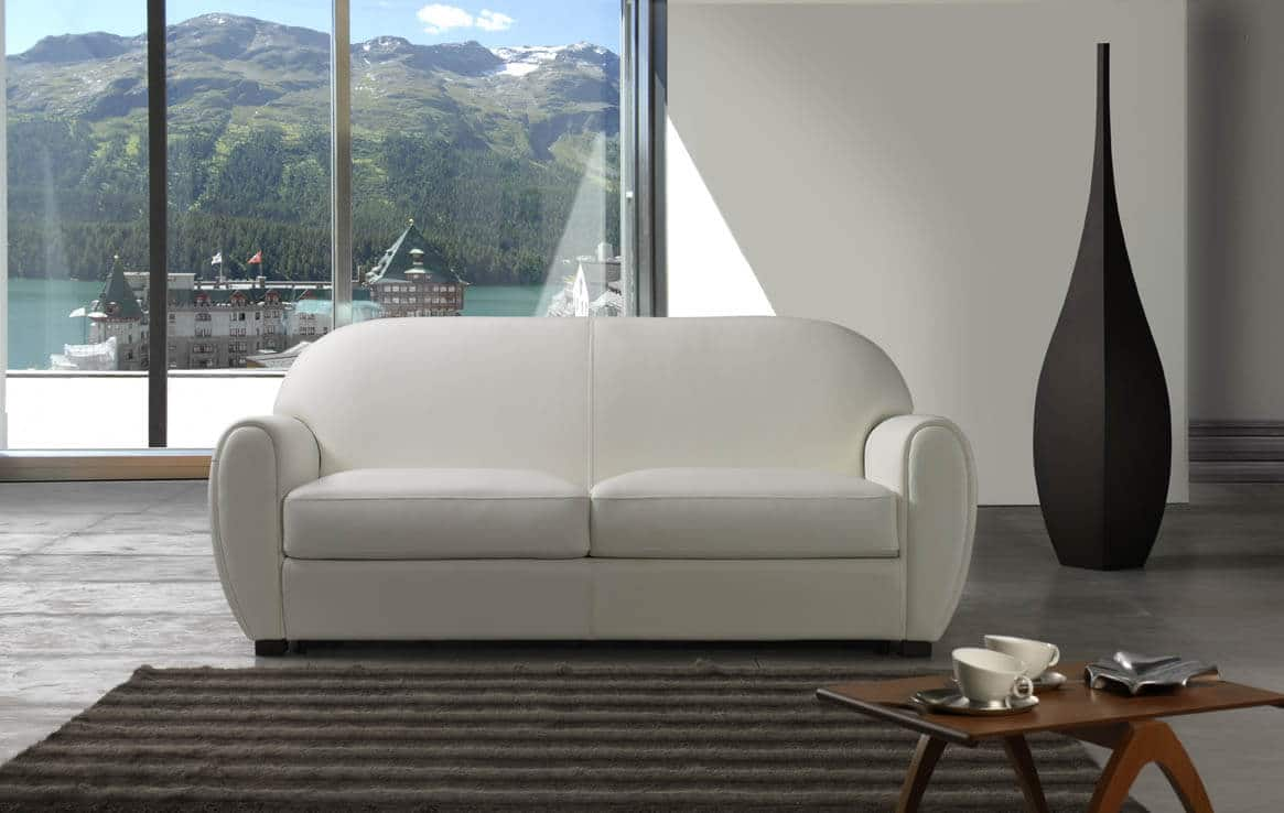 Divano letto modello manatthan sof convertibile - Divano letto in pelle ikea ...