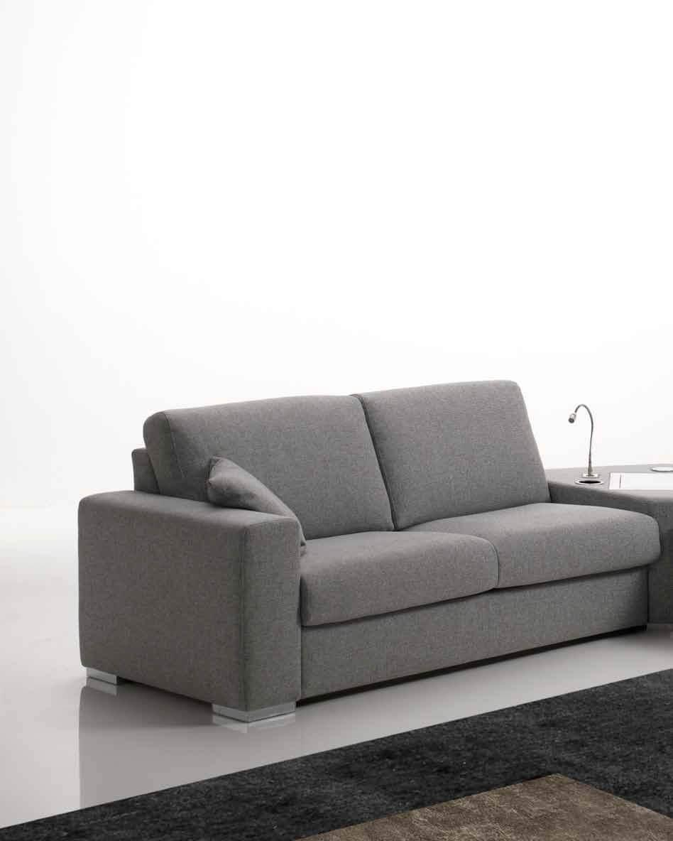 Divano letto modello pavone lampolet divani letto con - Divano angolo letto ...