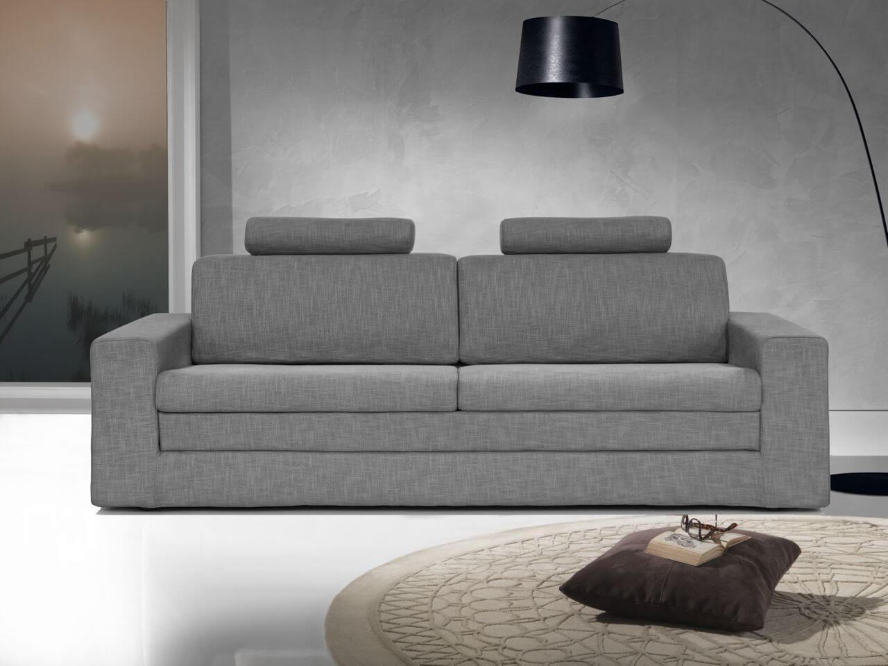 Divano letto modello milano girevole singolo arredamento for Arredamento divani