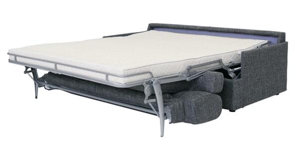 Divano letto modello gondola divani letto con materasso - Divano letto aperto ...