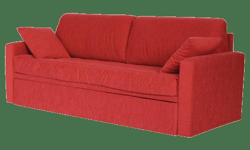 Letto con secondo letto o contenitore modello campi divani - Divano con letto estraibile ...