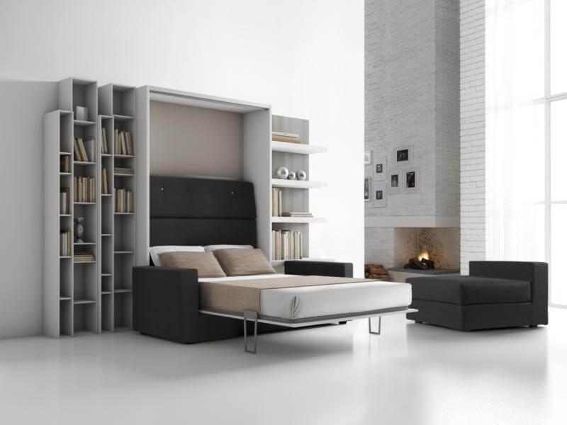 Letto a scomparsa modello biancospino letto a parete trasformabile letti a scomparsa letti a - Letto a parete a scomparsa ...