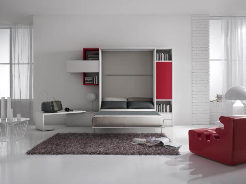 Letti A Scomparsa Design.Letto A Scomparsa Economico Confortevole E Di Design Si C