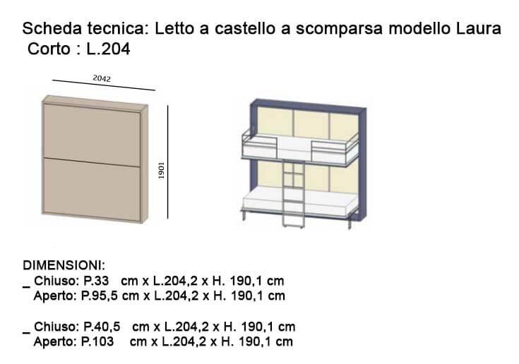 Misure Letti A Castello