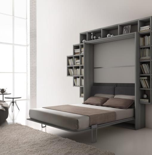 beautiful letto a muro contemporary