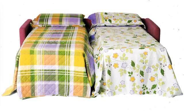 Divano letto economico jack su misura a prezzi outlet - Divano letto gemellare ...
