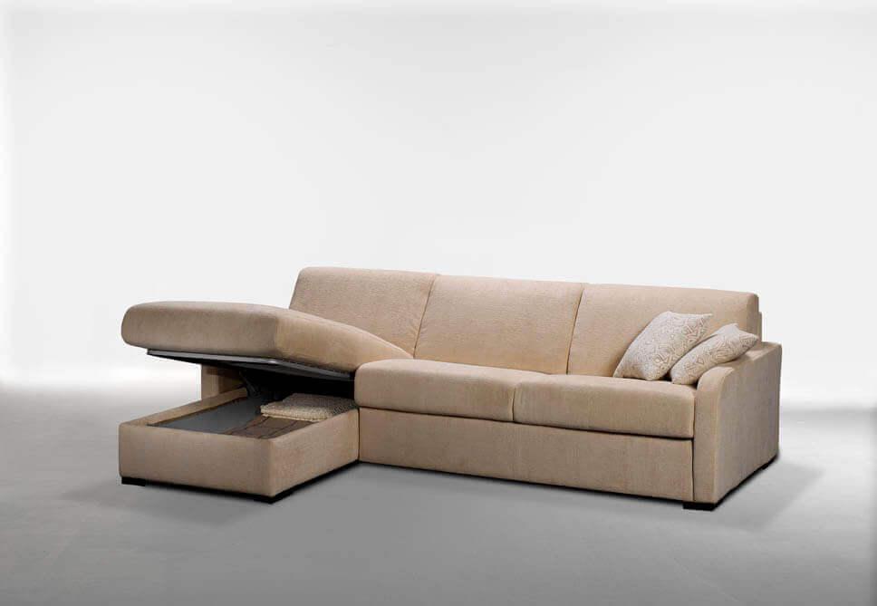 Divano letto economico jack su misura a prezzi outlet - Cerco divano angolare ...