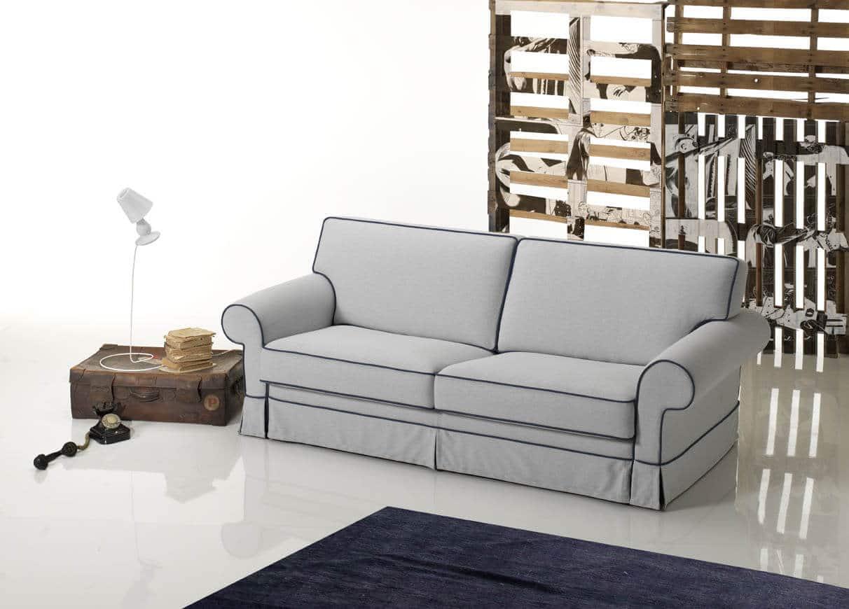 Divano letto in stile modello classic offerta prezzo scontato di fabbrica for Divani e divani divani letto