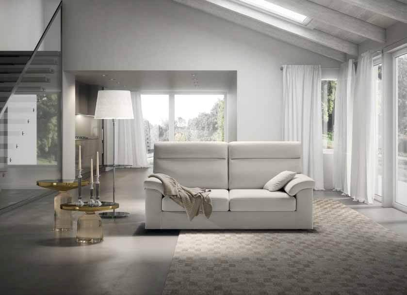 Divano modello teddy arredamento zona giorno divani e poltrone divani e poltrone relax con - Divano schienale alto ...