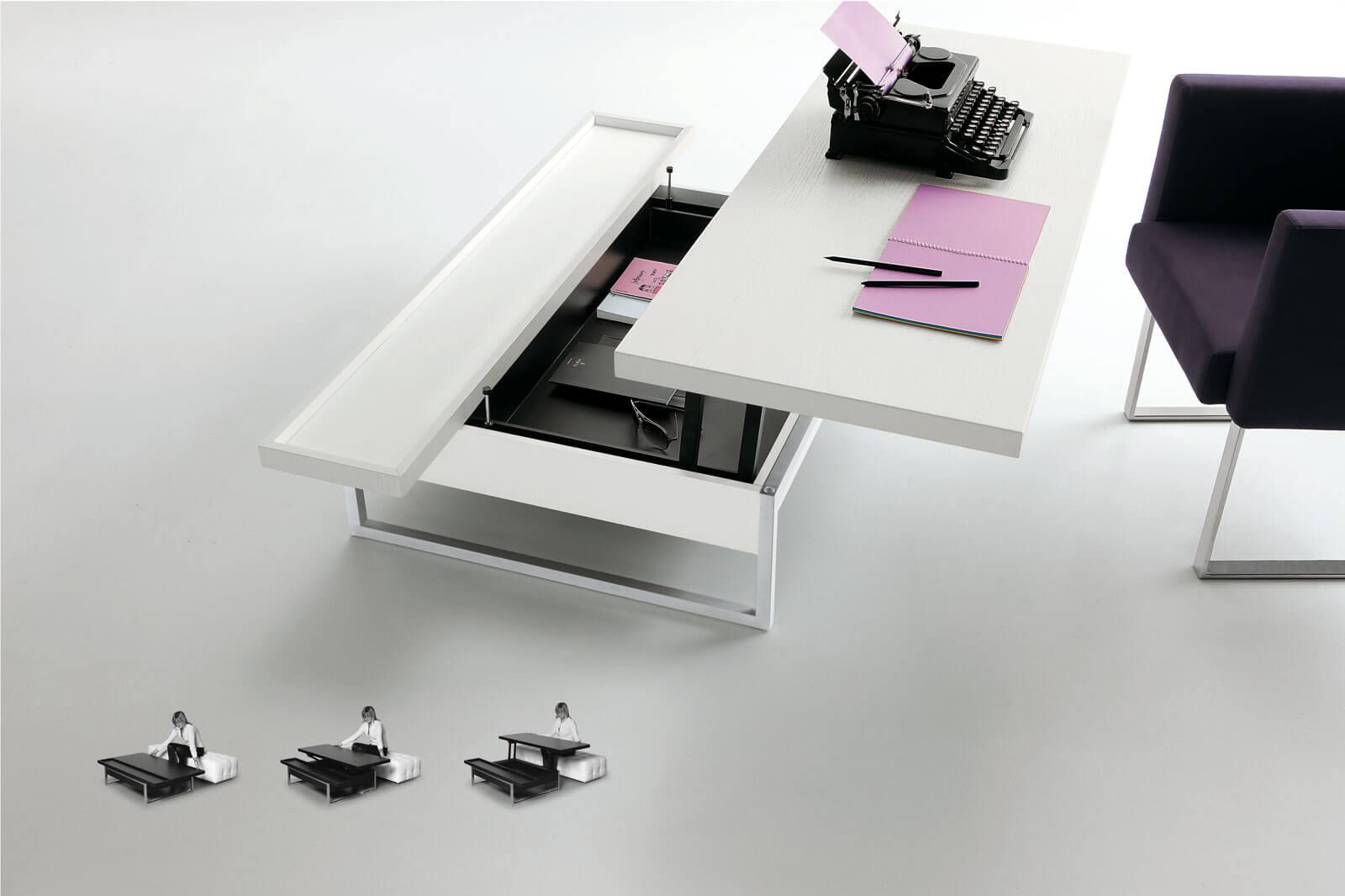 Mobili Trasformabili Tavolo.Tavoli Fissi Ed Allungabili Da Salotto E Da Pranzo In