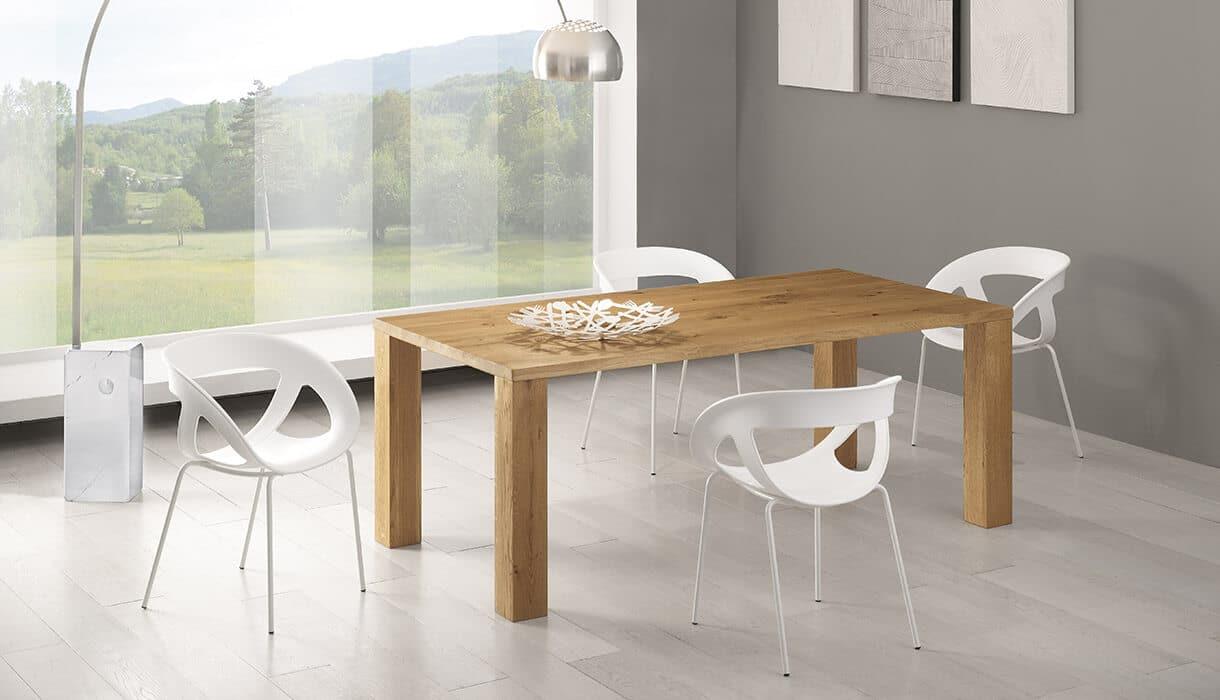 Tavolo in massello composizione giorgia complementi e for Arredamento tavoli