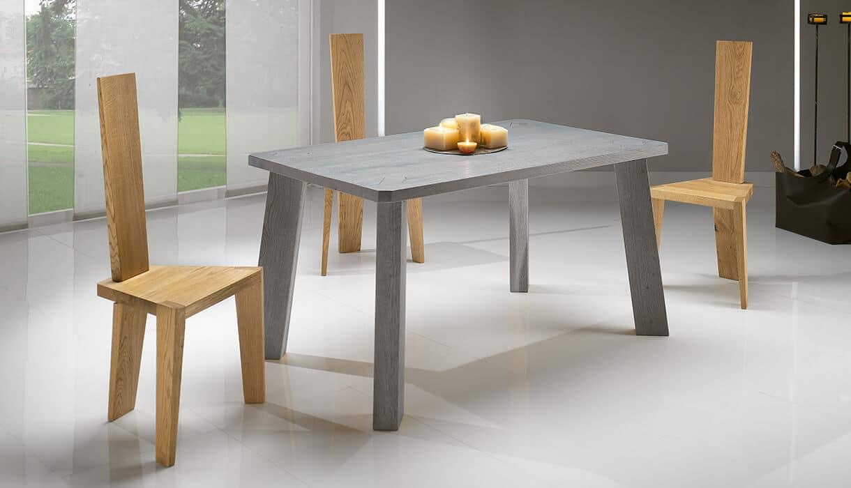 Tavolo in massello composizione rebecca complementi e - Tavolo massello ...