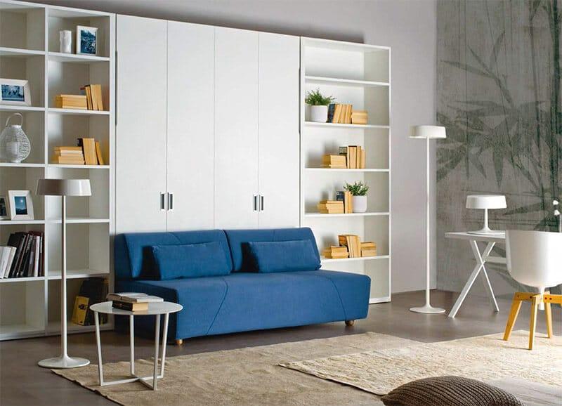 letto a scomparsa abacus sofà in promozione a prezzi da outlet scontato