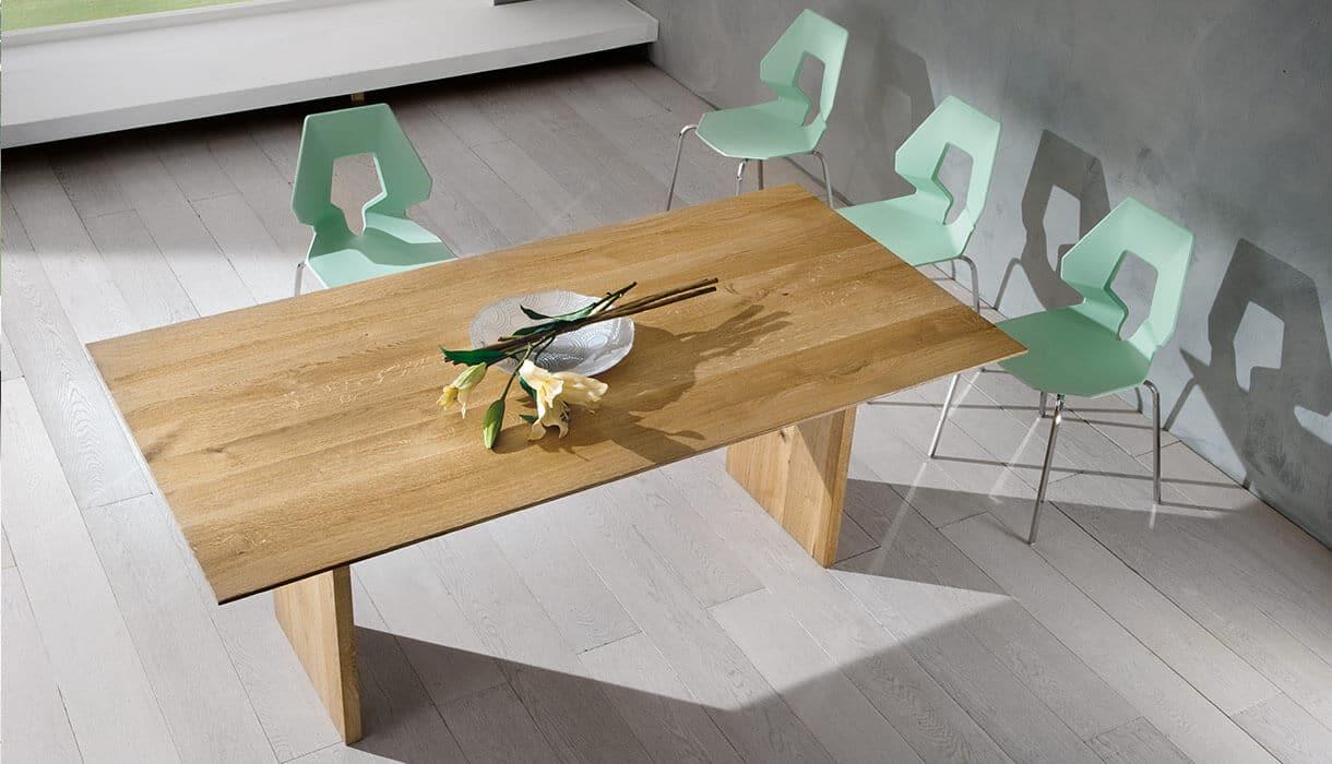 Tavolo in massello composizione aura complementi e for Tavolo massello