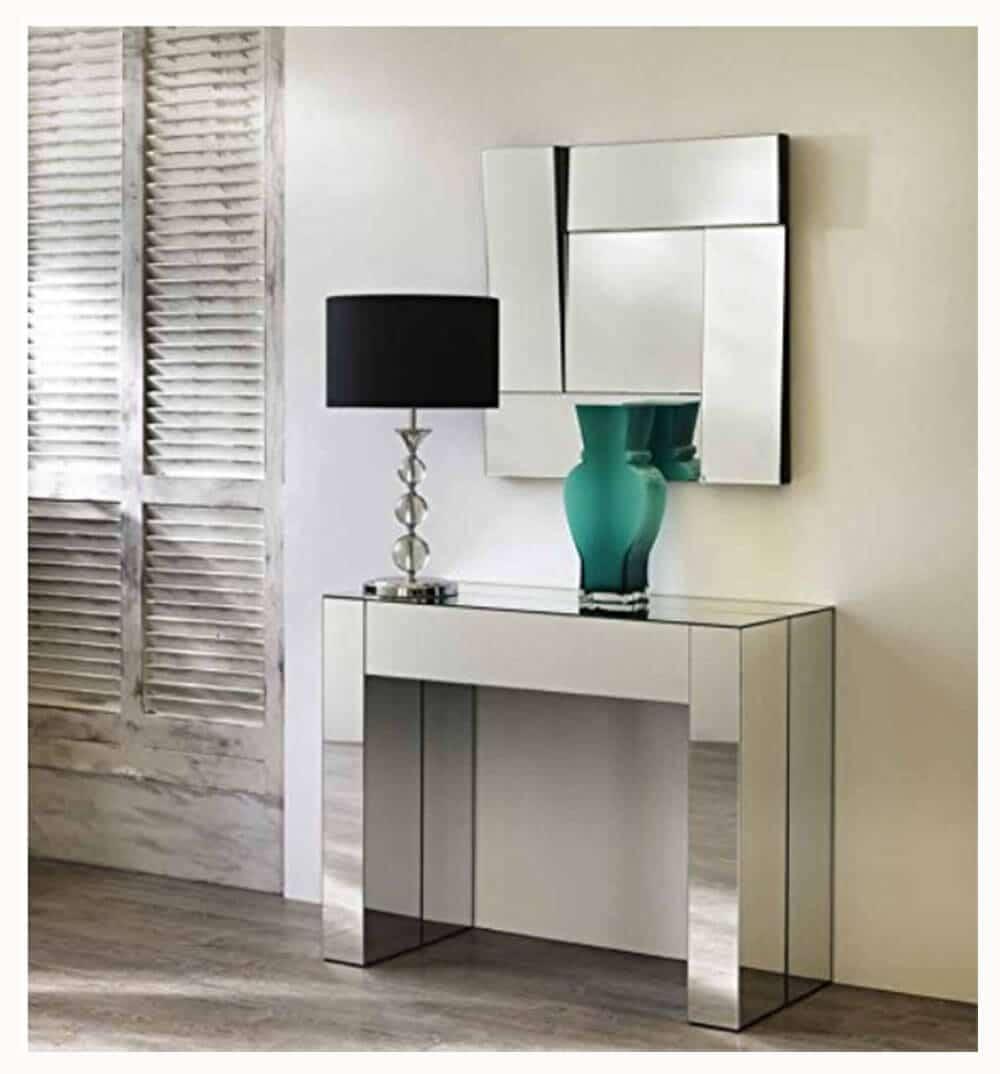 Consolle/Tavolo allungabile a specchio modello Karina Complementi ...