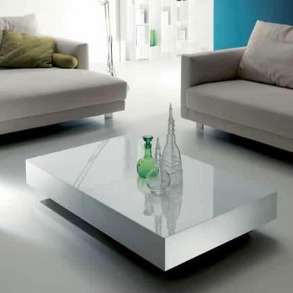 Tavolo trasformabile box offerta a prezzi outlet produzione diretta milano - Tavolo che si alza ikea ...