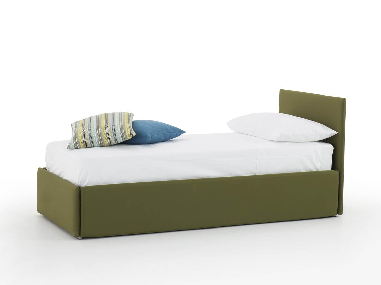 Divano letto con secondo letto estraibile o contenitore modello giglio divani letto con - Letto singolo con contenitore mercatone uno ...