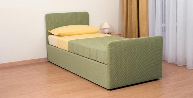 Letto con secondo letto o contenitore modello urano divani for Divano con letto estraibile