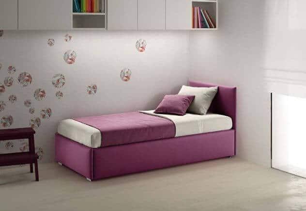Divano letto con secondo letto estraibile o contenitore modello giglio divani letto con - Divano letto singolo con contenitore ...