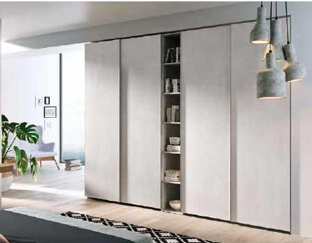 Armadio modello guy arredamento zona giorno arredamento for Armadio da soggiorno