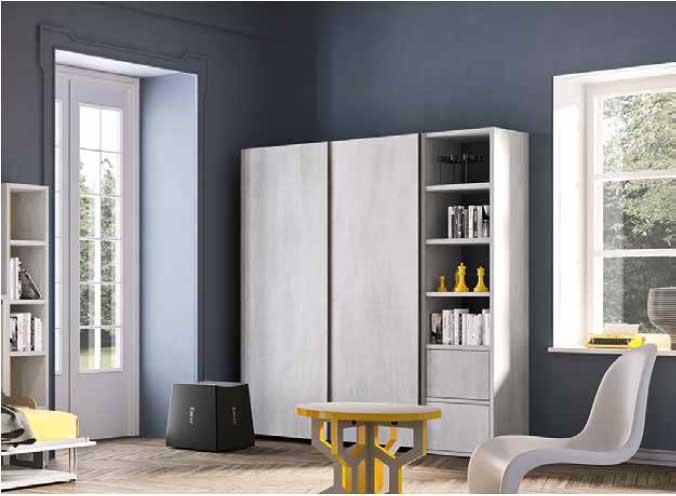 Armadio modello bisu arredamento zona giorno mobili da for Armadio da soggiorno