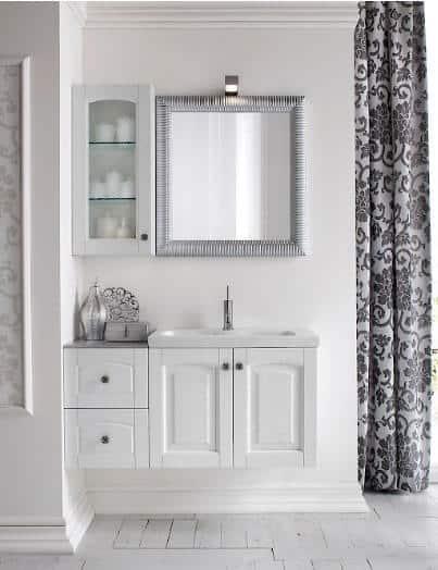 Mobile bagno composizione agata bagni su misura promo for Composizione bagno offerte