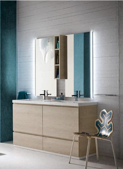 Bagno composizione ametista bagni su misura cucine e bagni for Composizione bagno offerte