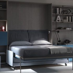 Design innovativo - letto a scomparsa verticale