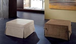 Design innovativo- pouf letto in offerta