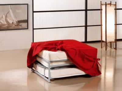 pouf letto, Posto letto in più? Soluzione brillante! In offerta il nuovo pouf letto