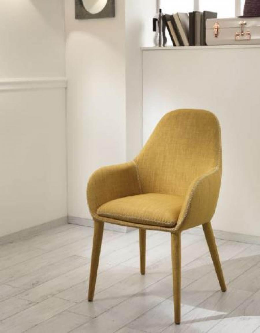 Sedia modello joker complementi e illuminazione sedie for Sedia da ufficio gialla