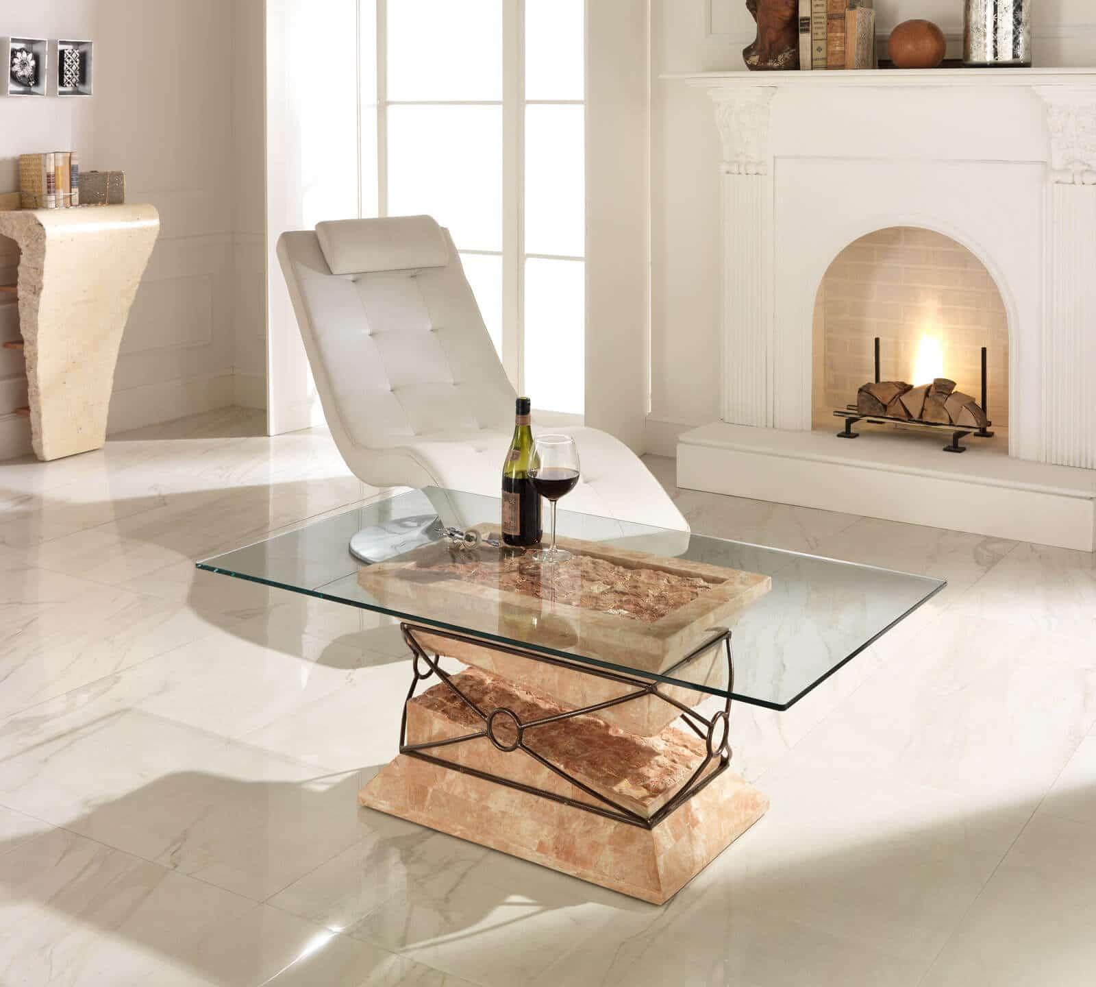 Collezione tavoli da salotto complementi e illuminazione for Tavolini vetro