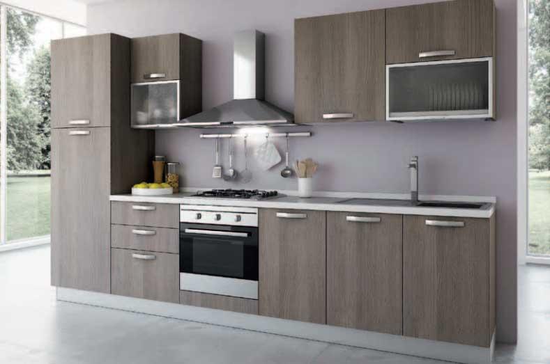 Cucina lineare modello story offerte cucine e bagni for Cucine bloccate offerte