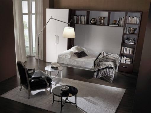 letto a scomparsa modello Mellie, Non accontentarti! Design unico, convenienza e qualità con il letto a Scomparsa Modello Mellie trasformabile con movimento orizzontale