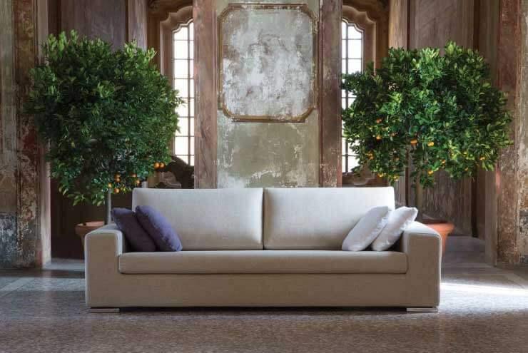 Divano fisso modello ger arredamento zona giorno divani fissi - Divano 170 cm ...