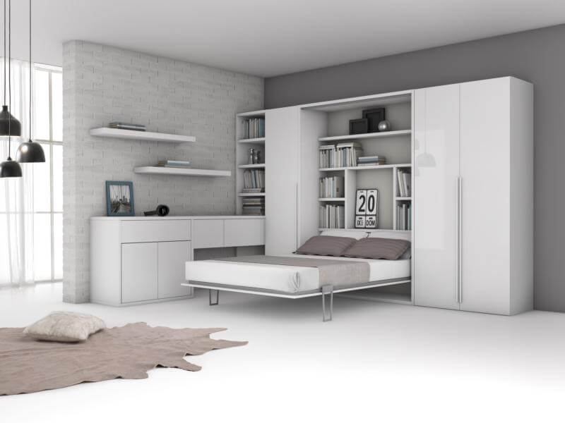Letto Matrimoniale Scomparsa Armadio ~ Idee Creative e Innovative ...