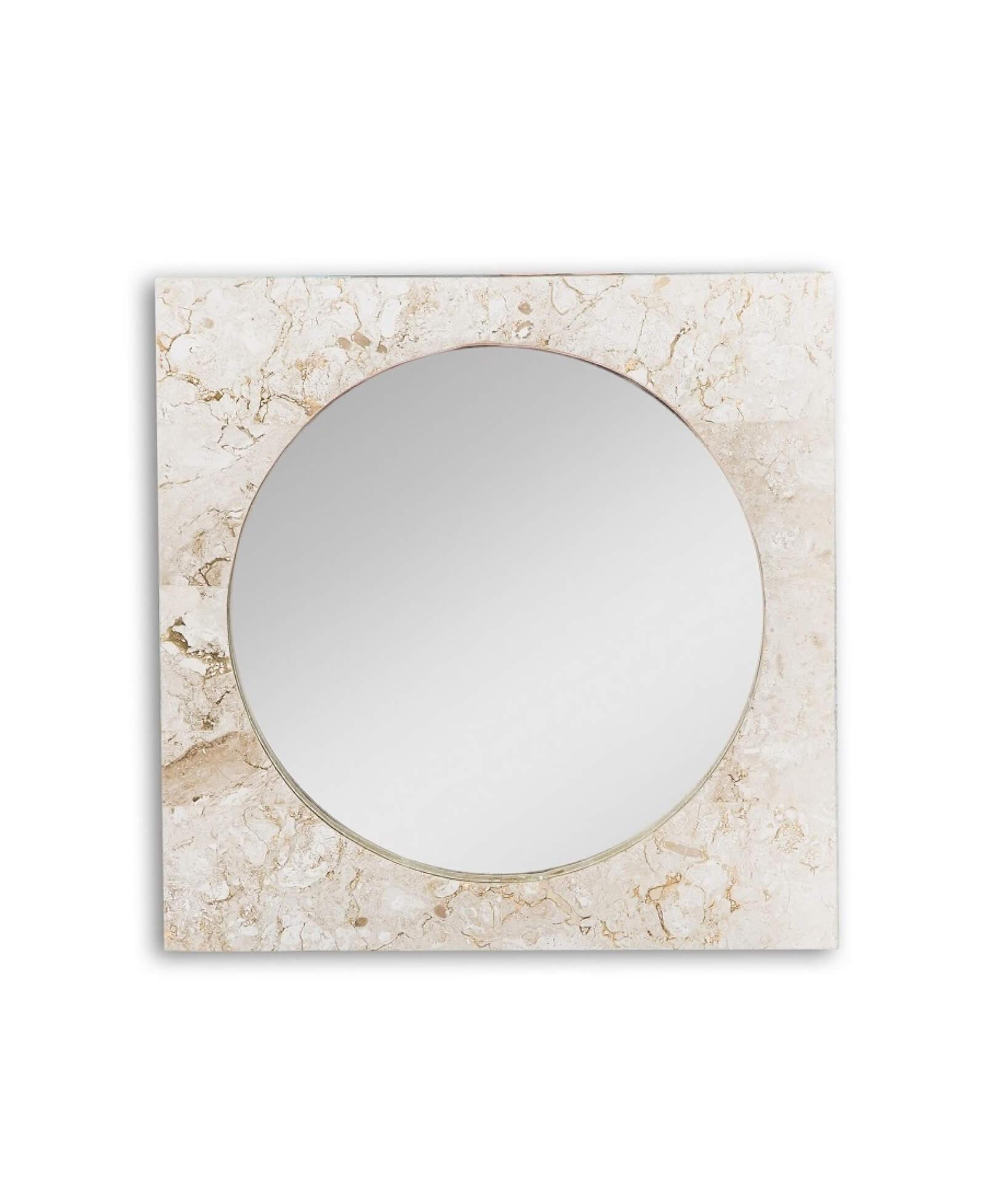 Specchio in marmo modello redondo complementi e - Specchio per valutazione posturale ...