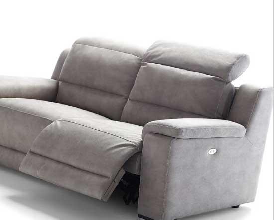 Divano modello relax confort arredamento zona giorno - Divano meccanismo relax ...