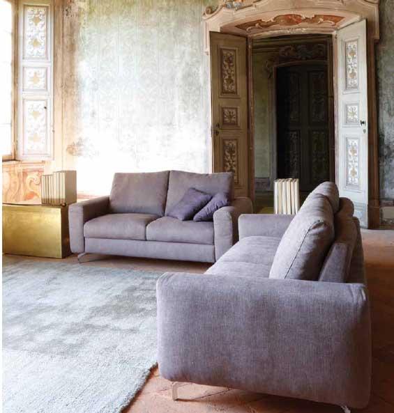 Divano letto o fisso modello cute arredamento zona giorno divani fissi divani letto - Trasformare un divano fisso in divano letto ...