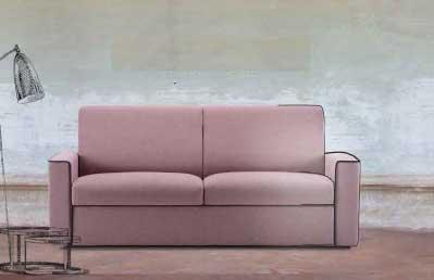 divano letto economico, Divano Letto o Fisso Modello Jack trasformabile su misura Versione Lineare