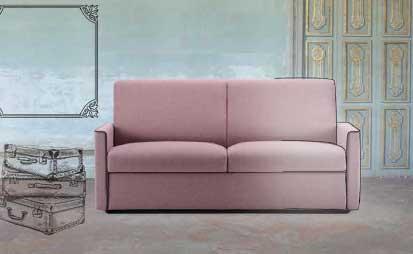 divano letto o fisso modello slim arredamento zona giorno, divani