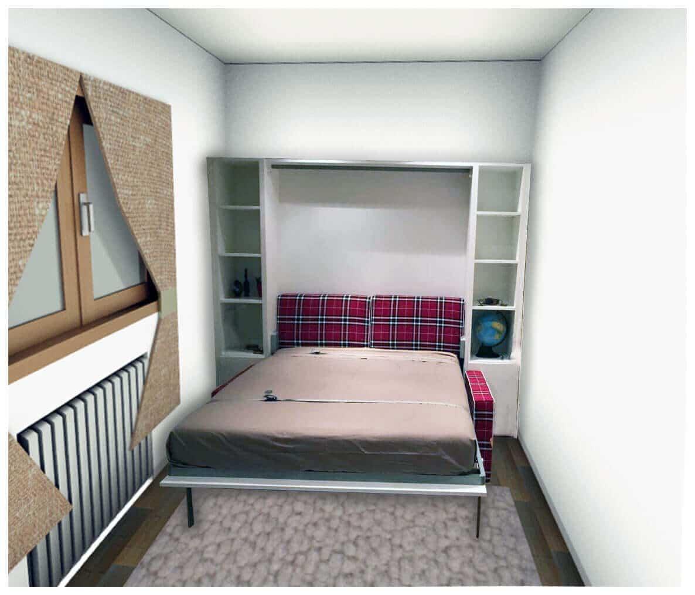 Mobile letto a scomparsa con divano modello living 2 0 promo facebook i pi venduti letti a - Letto con mobile ...