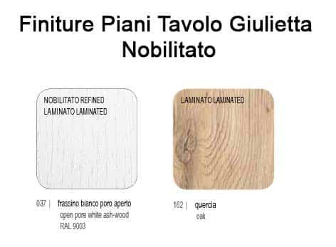 Tavolo Allungabile Con Piano In Nobilitato Modello Giulietta