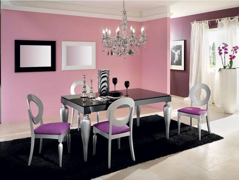 Tavolo allungabile con piano in vetro modello giulietta tavoli - Tavolo in vetro nero ...