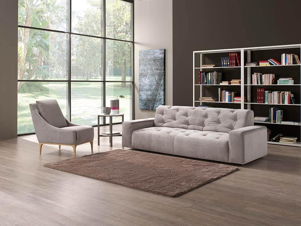 Poltrona con divano divano angolare poltrone sofa divano for Divano poltrona